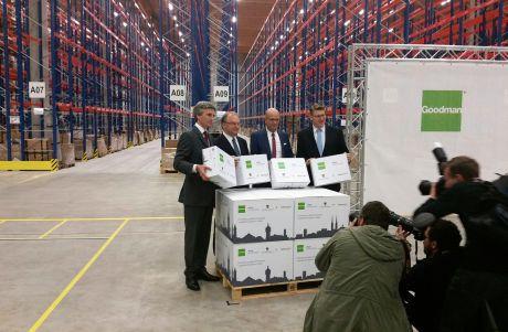 List Bau Nordhorn ebay enterprise nimmt offiziell arbeit in 28 000 qm großem neubau